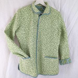 VINTAGE Reversible Quilt Jacket